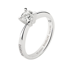 Auckland white gold engagement ring